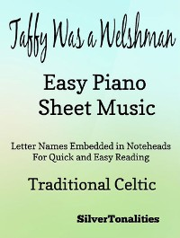 Cover Taffy Was a Welshman Easy Piano Sheet Music
