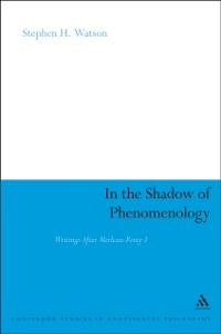 Cover In the Shadow of Phenomenology