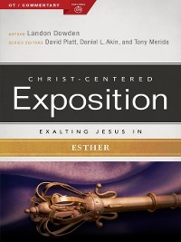 Cover Exalting Jesus in Esther