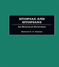 Cover Utopias and Utopians