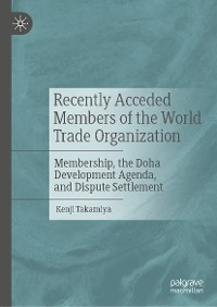 Cover Recently Acceded Members of the World Trade Organization
