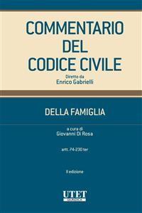Cover Commentario al Codice Civile - Modulo Famiglia II ed. (vol. I)