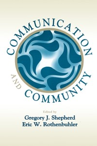 Cover Communication and Community