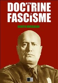 Cover La Doctrine du Fascisme