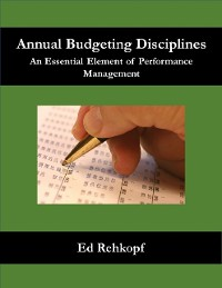 Cover Annual Budgeting Disciplines - An Essential Element of Performance Management