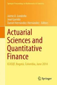 Cover Actuarial Sciences and Quantitative Finance