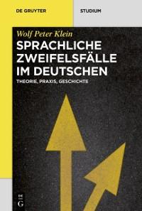Cover Sprachliche Zweifelsfalle im Deutschen