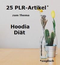Cover 25 PLR-Artikel Hoodia Diät