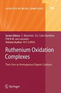 Cover Ruthenium Oxidation Complexes
