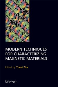 Cover Modern Techniques for Characterizing Magnetic Materials