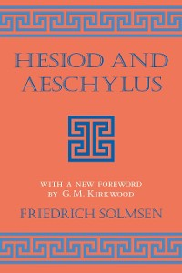 Cover Hesiod and Aeschylus