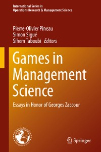 Cover Games in Management Science