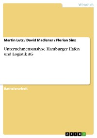Cover Unternehmensanalyse Hamburger Hafen und Logistik AG