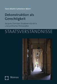 Cover Dekonstruktion als Gerechtigkeit