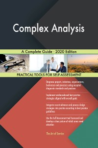 Cover Complex Analysis A Complete Guide - 2020 Edition