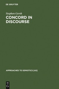 Cover Concord in Discourse