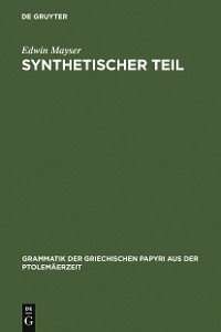 Cover Synthetischer Teil