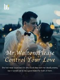 Cover Romance Of Mr. Walton