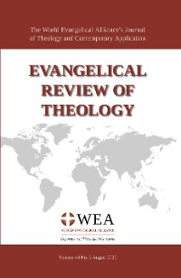 Cover Evangelical Review of Theology, Volume 44, Number 3, August 2020