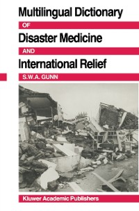 Cover Multilingual Dictionary Of Disaster Medicine And International Relief