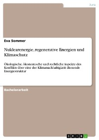 Cover Nuklearenergie, regenerative Energien und Klimaschutz