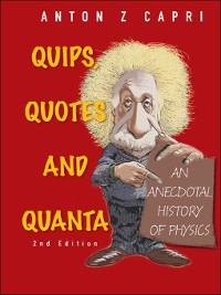 Cover Quips, Quotes and Quanta
