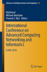 Cover International Conference on Advanced Computing Networking and Informatics