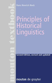 Cover Principles of Historical Linguistics