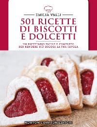 Cover 501 ricette di biscotti e dolcetti
