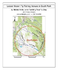 Cover Lesser Known Fly Fishing Venues in South Park, Colorado