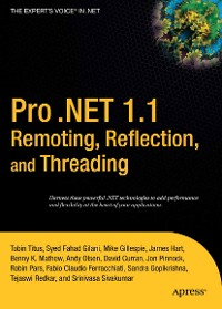 Cover Pro .NET 1.1 Remoting, Reflection, and Threading
