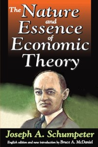 Cover Nature and Essence of Economic Theory