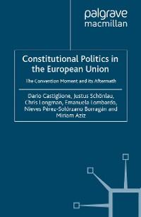 Cover Constitutional Politics in the European Union