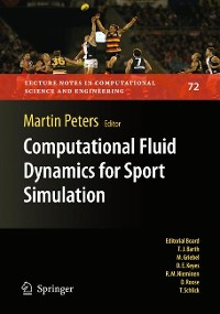 Cover Computational Fluid Dynamics for Sport Simulation