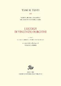 Cover I Ricordi di Vincenzio Borghini
