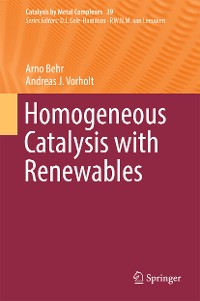 Cover Homogeneous Catalysis with Renewables