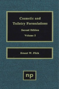 Cover Cosmetic and Toiletry Formulations, Vol. 5