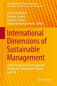 Cover International Dimensions of Sustainable Management