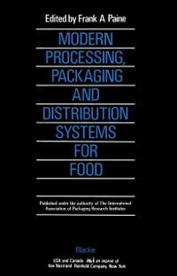 Cover Modern Processing, Packaging and Distribution Systems for Food