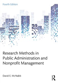 Cover Research Methods in Public Administration and Nonprofit Management