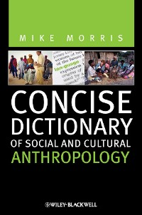 Cover Concise Dictionary of Social and Cultural Anthropology