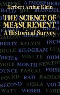Cover The Science of Measurement