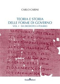 Cover Teoria e storia delle forme di governo