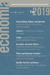 Cover Economía: Fall 2019