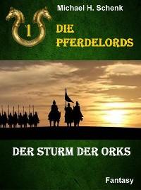 Cover Die Pferdelords 01 - Der Sturm der Orks