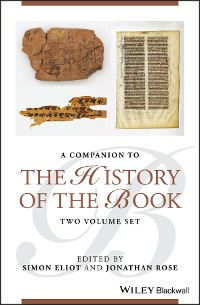 Cover Companion to the History of the Book