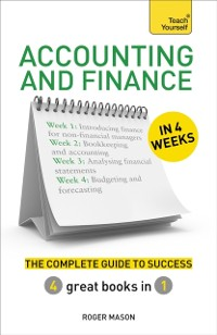 Cover Accounting & Finance in 4 Weeks