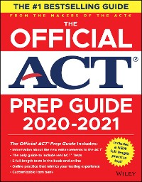 Cover The Official ACT Prep Guide 2020 - 2021