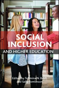 Cover Social Inclusion and Higher Education