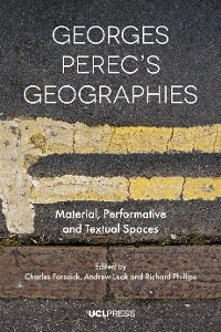 Cover Georges Perecs Geographies